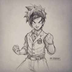 Artist: Itsbirdy | Dragon Ball Z