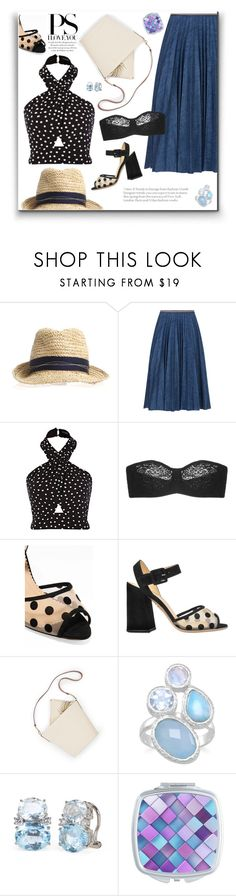 """Untitled #324"" by craftsperson ❤ liked on Polyvore featuring Leur Logette, Wacoal, Charlotte Olympia and prettyunderpinnings"