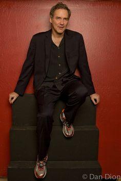 Portrait Of Comic Norm Macdonald By Photographer Dan Dion
