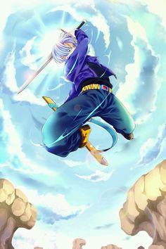 Trunks l Dragon Ball Z Dragon Ball Gt, Fanart, Art Anime, Manga Anime, Boruto, Trunks Dbz, Kuroko, Manga Dragon, Ssj2
