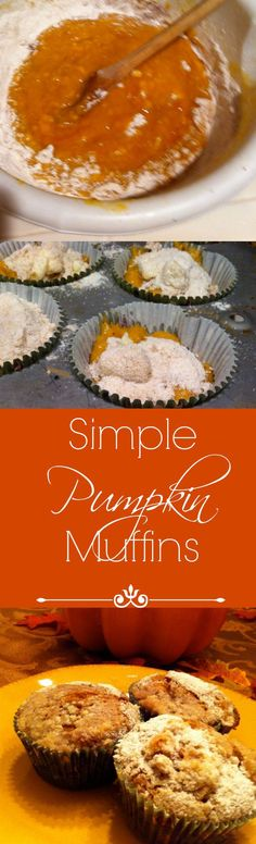 A Simple pumpkin muf