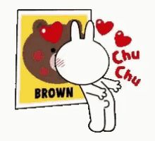 With Tenor, maker of GIF Keyboard, add popular Cony Brown animated GIFs to your conversations. Share the best GIFs now >>> Love Is Cartoon, Cute Couple Cartoon, Cute Love Cartoons, Cute Love Pictures, Cute Love Gif, Kiss Animated Gif, Cony Brown, Brown Bear, Bear Gif