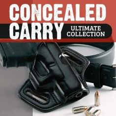 From selecting ammunition to essential drills, the Ultimate Concealed Carry Collection is the best way to load up with know-how before you strap on a holster. Concealed Carry Women, Concealed Carry Holsters, Cordless Drill Reviews, Drill Set, Duty Gear, Target Practice, Guns And Ammo, Firearms, Hand Guns