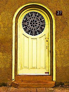Beautiful door...window.