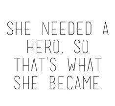 hero, quote, and she image