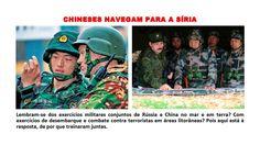 Chineses Navegam Para a Síria