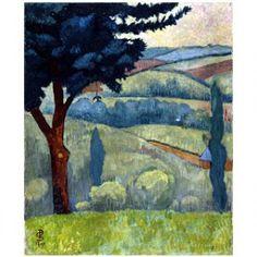 Paul Sérusier - Vallée-temps gris - 1907 - Coll particulière