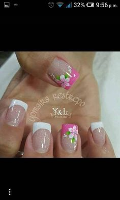 Here are some hot nail art designs that you will definitely love and you can make your own. You'll be in love with your nails on a daily basis. Fingernail Designs, Toe Nail Designs, Nail Polish Designs, Nails Design, Toe Nail Art, Toe Nails, Fancy Nails, Pretty Nails, Nagellack Trends