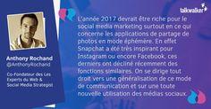 7 tendances à surveiller en 2017 sur les médias sociaux