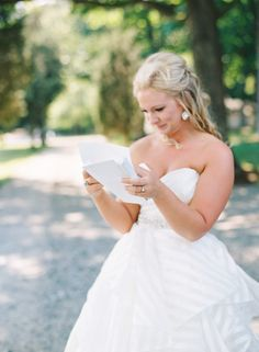 first look | Anna Paschal Photography | The Barn at Summerfield Farms North Carolina Wedding