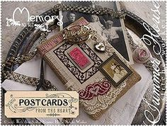Summer House Stitche Workes - Postcards From The Heart - #6 Memory – Stoney Creek Online Store