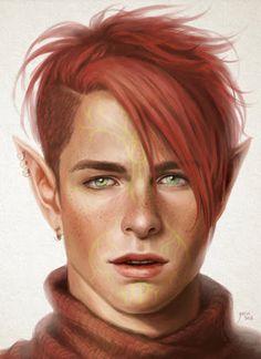 Bildergebnis für fantasy character portrait