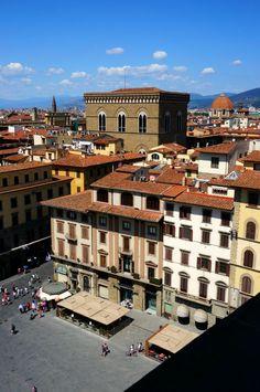 the view from Palazzo Vecchio(Piazza della Signoria), Firenze, Italy 피렌체 베키오 궁전에서 바라본 시뇨리아 광장