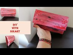 DIY Portofel din deseuri - Tutorial/Wallet from waste Best Youtubers, Colored Paper, Give It To Me, How To Make, Hello Everyone, Mini Bag, Make It Yourself, Wallet, Friends