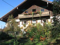 "Uma fazenda na Bavaria na ""Tiefenbach""."