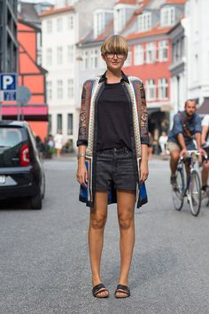 street style from copenhagan fashion week