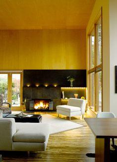 Fireplace  #modern
