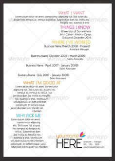 Graphic Design: Cover Letter & Résumé | Graphic Design + Signage ...