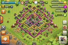 My old base on clash of clans