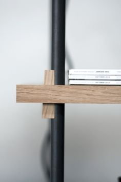 OP shelving system designed by Martin D. Christensen from @martin Christensen  spotted by @missdesignsays
