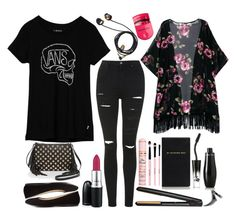 """Bad to the bone"" by prettyorchid22 ❤ liked on Polyvore"