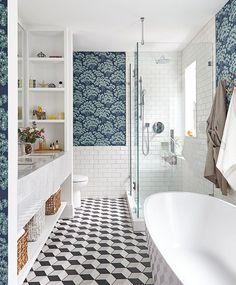 Decorative Accent Tiles For Bathroom Impressive The Century Master Bath Tile Detail  Tile Wall Stripes Review
