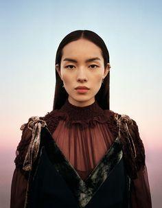 Fei Fei Sun For Vogue China January 2017 - Transparencies