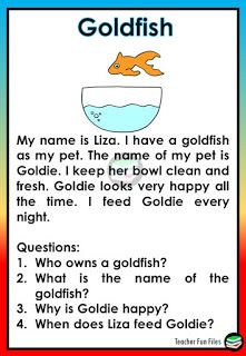 3rd Grade Reading Comprehension Worksheets, Grade 1 Reading, Phonics Reading, Reading Comprehension Passages, Comprehension Questions, Kindergarten Reading, English Stories For Kids, English Lessons For Kids, Learn English Words