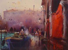 Alvaro Castagnet, 1954 ~ Impressionist Watercolor painter | Tutt'Art@ | Pittura * Scultura * Poesia * Musica |