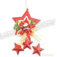 Plastic Red StarsSanta Claus Chirstmas Gift 3pcs/lot Fashion Ornament Fit Christmas, Festival Decoration 260089-in Christmas Decoration Supplies from Home  Garden on Aliexpress.com $5.34