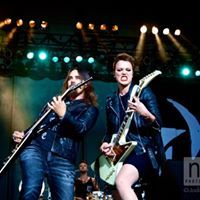 Halestorm on stage at Darling's Waterfront Pavilion, Halestorm, 2017 Photos, Pavilion, Stage, Concert, Gazebo, Recital, Concerts, Festivals