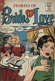 Comic Book Cover For Brides in Love v1 #2