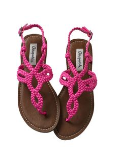 Aéropostale Woven Thong Sandal {I would seriously wear these every day. lol}