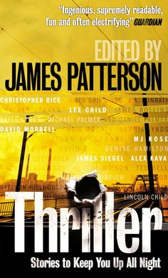james patterson books | Thriller - Edited by James Patterson - book cover design
