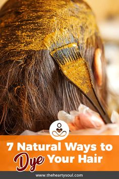 7 natural ways to dye your hair. Traditional hair dyes can be damaging, drying and even toxic for your health- these natural homemade alternatives come from nature and deliver a pretty stunning result! Braid Out Natural Hair, Coiling Natural Hair, Blonde Natural Hair, Tapered Natural Hair, Protective Hairstyles For Natural Hair, Natural Hair Mask, Natural Hair Styles, Natural Hair Color Products, Best Natural Hair Dye