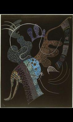 Wassily Kandinsky, White Line on ArtStack #wassily-kandinsky-vasilii-vasil-ievich-kandinskii #art