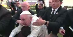 Mabel Naija's Blog (MNB)                                                      : NEWS: Pope Almost Knocked Down !!