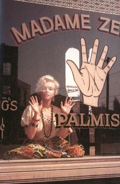 even Marilyn Monroe loved palm readings..