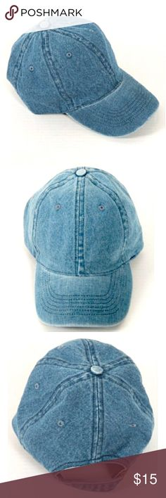 ❕2 LEFT❕☝️Denim baseball cap⚾️ From the HATTER CLUB! Denim baseball cap⚾️ NOW AVAILABLE FOR PURCHASE there are only 2 available! This listing is for sale and you may buy!✌️So Get ready to bump up your fall wardrobe with this cute cap✔️ Price is firm on this item✨ thank you✌️ Fashionomics_pm Accessories Hats