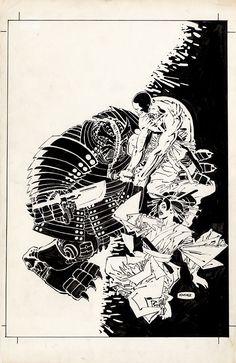 Rai #06 cover Comic Art