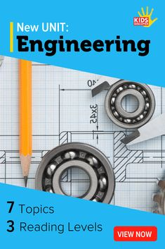 Empower kids to embrace their inner Engineer with this brand new STEM-themed Unit from Kids Discover Online! They'll be amazed to discover that on a daily basis, they use the same thought processes and strategies as the most sophisticated engineers. Electrical Engineering Books, Engineering Science, Electronic Engineering, Science Projects, Middle School Science, Elementary Science, Teaching Science, Science For Kids, Science Ideas