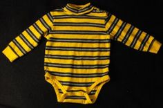 The Children's Place TCP Baby Boys 12-18 Months Longsleeve Turtleneck Bodysuit~  Adorable Gymboree Body suit with Turtleneck collar. Great shirt for layering!   Tag says 18 Months, which in TCP clothing covers 12-18 Months, but my son wore them until 24 months.   #teamsellit
