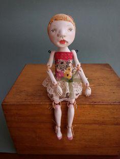 Petuqui art doll. Camila. petuqui on etsy and facebook
