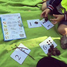 MATEMATIK I NATUREN – PEDAGOG INSPIRATION Insect Crafts, Bee Crafts, July Crafts, Toddler Art, Toddler Preschool, Toddler Activities, Stem Projects For Kids, Crafts For Kids, Maths In Nature