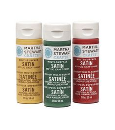 Martha Stewart Satin Acrylic Craft Paint 2 Ounces-Many Colors : Martha Stewart Crafts-Paint : decorative painting : crafts :  Shop | Joann.com