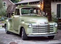 my husbands 1950 chevy truck