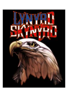 Black tee is printed with the artwork from Lynyrd Skynyrd's Americana album. Lynyrd Skynyrd t-shirt features the Americana album design Heavyweight pre-shrunk cotton Officially licensed product; High quality silkscreen won't crack or fade Gary Rossington, Allen Collins, Rock And Roll Bands, Rock N Roll, Lynyrd Skynyrd T Shirt, Lynard Skynard, Ronnie Van Zant, Rock Y Metal, Concert Posters