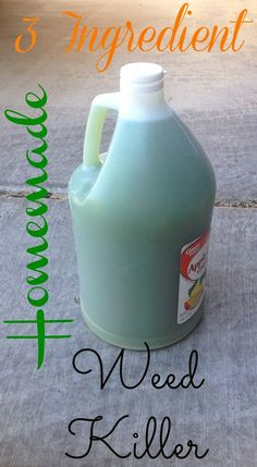 Mommys Craft Obsession: 3 Ingredient Homemade Weed Killer Recipe