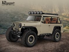 It's no secret that we have been building an adventure crawler out of a 1973 Jeep Commando for SEMA Booth. Well let us… Jeep Truck, Pickup Trucks, Jeep Cj7, Jeep Rubicon, Jeepster Commando, Badass Jeep, Classic Car Insurance, Custom Jeep, Expedition Vehicle
