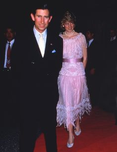 1986-05-09 Diana and Charles attend a Japanese Banquet at the Tsuruya Restaurant in Osaka